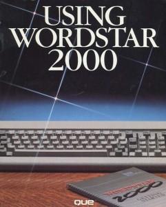 Using WordStar 2000